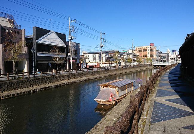 栃木駅周辺の様子
