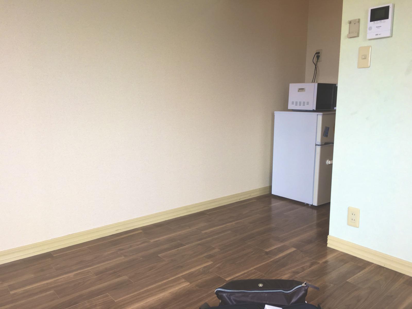 期間工の寮の部屋の様子